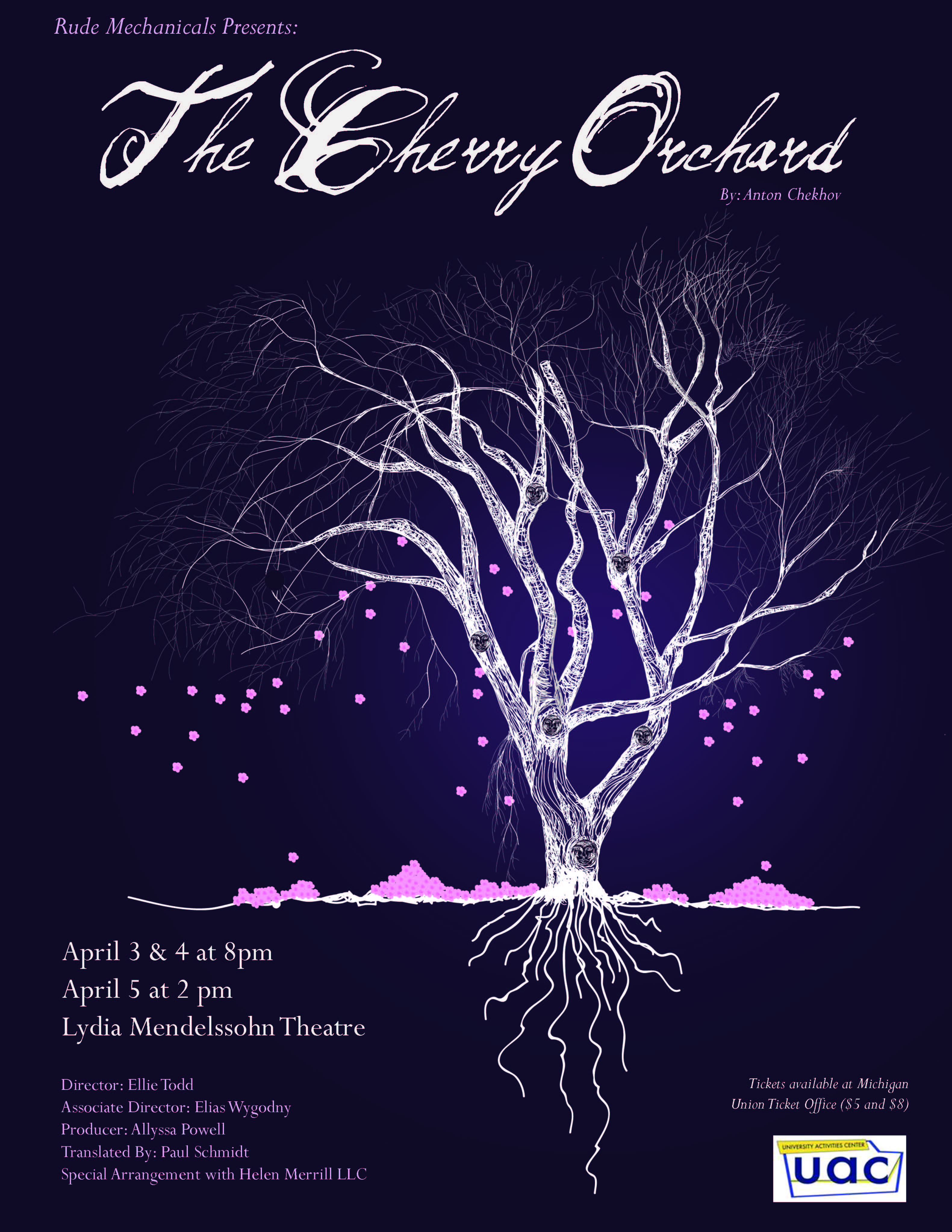 a chekhov the cherry orchard The cherry orchard was first produced by the moscow art theatre on chekhov's  last birthday, january 17, 1904 since that time it has become one of the most.