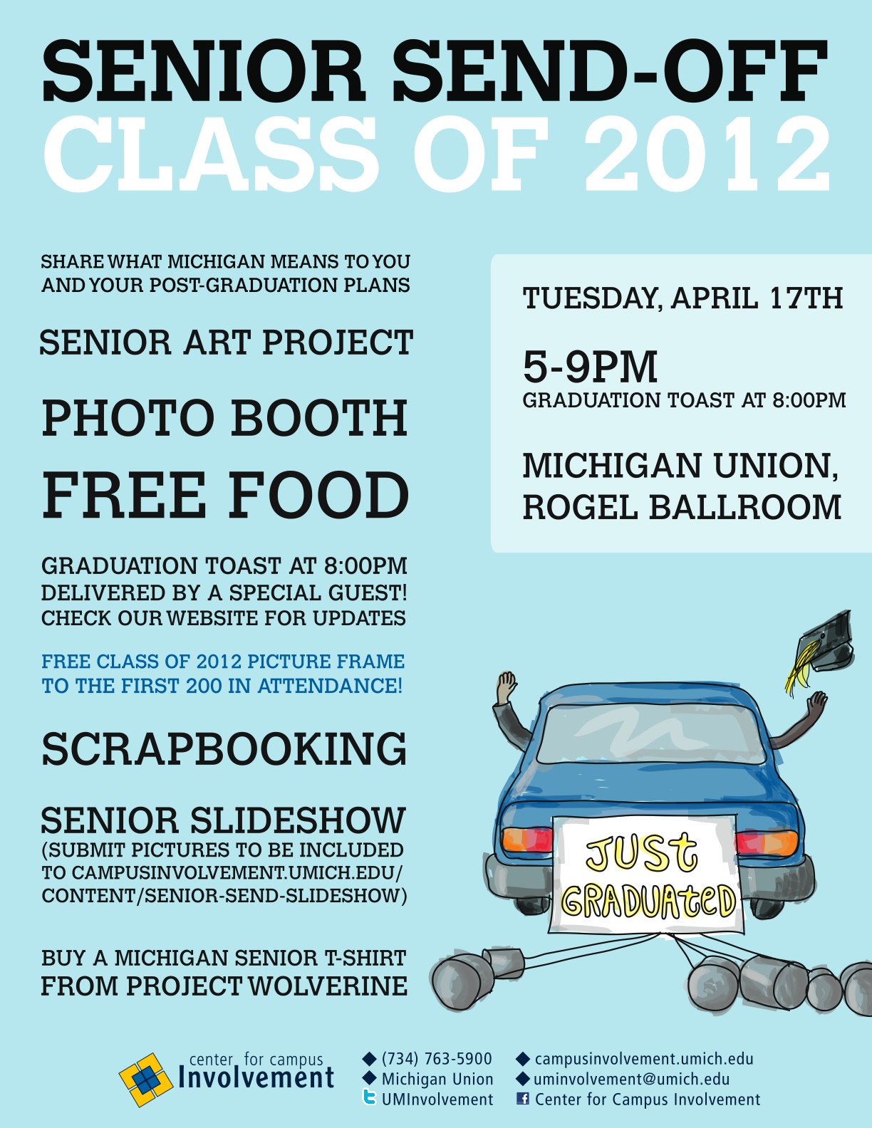 CAP & GOWN COUNTDOWN - SENIOR SEND-OFF | Campus Involvement