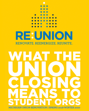 What the michigan Union Closing Means to Student Orgs