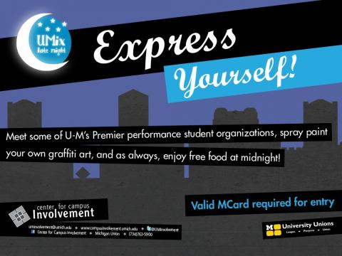 Umix Express Yourself flyer
