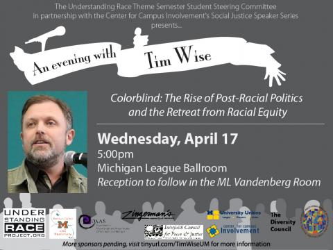 Tim Wise keynote 04-17-13