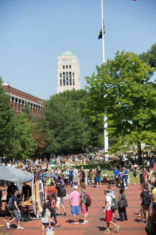 Diag, Flagpole and Bell Tower