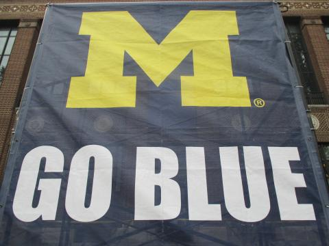 go blue flag