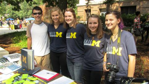 Michiganensian students