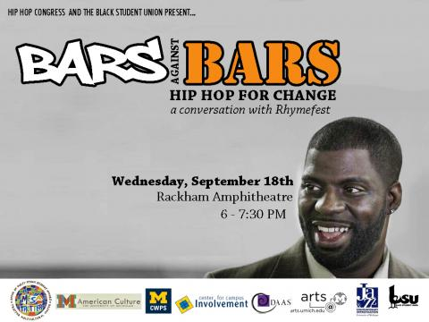 A Conversation with Rhymefest 9/18/13, 6-7:30pm at Rackham