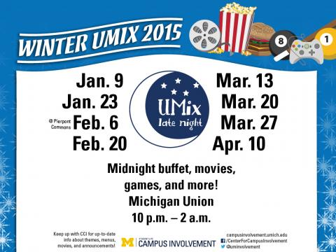 UMIX flyer Winter 2015
