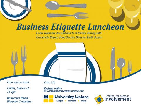 Business Etiquette Luncheon winter 2013