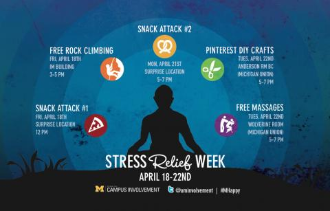 Stress Relief Week Winter 2014 Program dates