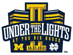 Under the Lights at the Big House logo