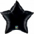 Picture of Onyx Black Mylar Star
