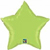 Picture of Lime Green Mylar