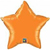 Picture of Orange Mylar Star