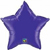 Picture of Quartz Purple Mylar Star