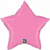 Picture of Rose Mylar Star