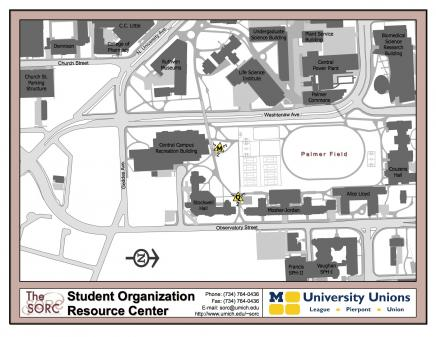 Map of Diag Boards Locations for Hill