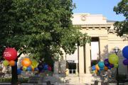 Victors Centerpieces showcasing the Art Museum
