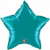 Picture of Teal Mylar Star
