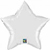 Picture of White Mylar Star